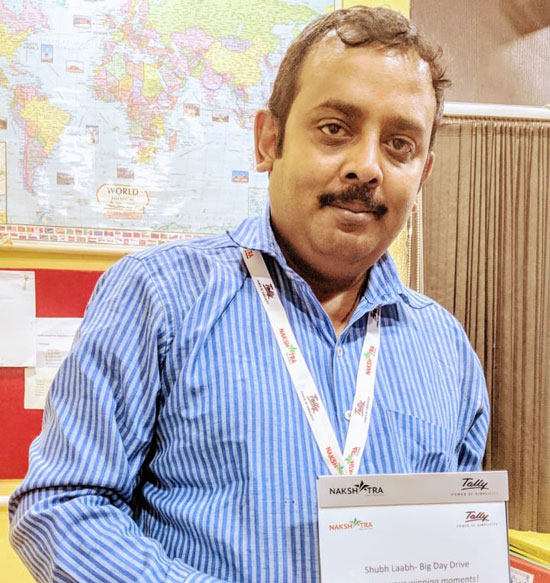 Projects delivery executive Mr Arindam Bose Silicon Systems